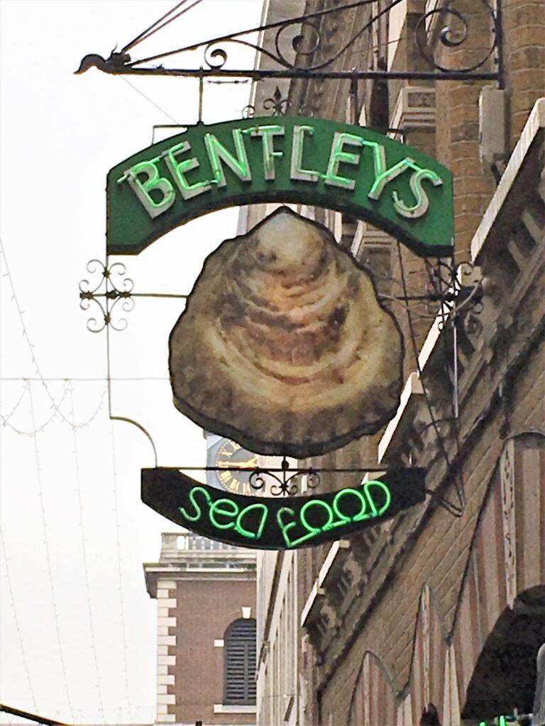 Visit Bentley's oyster bar london